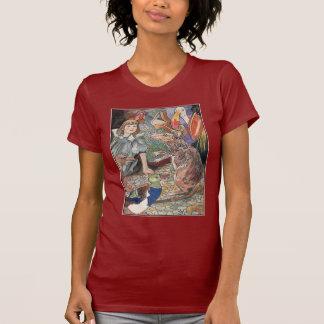 Alice in Wonderland Vintage Illustration T Shirt