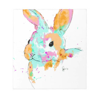 Alice in Wonderland water colour designs Notepad