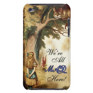 Alice in Wonderland Were All Mad Here iPod Touch Case