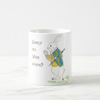 Alice in Wonderland White Rabbit. Coffee Mug