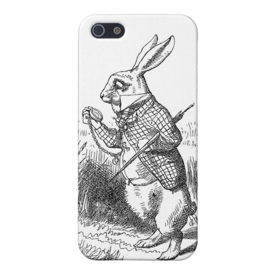 Alice In Wonderland White Rabbit Cover For iPhone