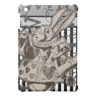 Alice In Wonderland White Rabbit Grunge Case For The iPad Mini