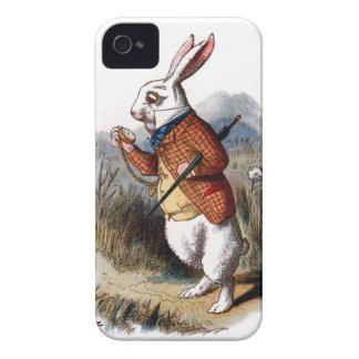 Alice in Wonderland White Rabbit iPhone 4 Case