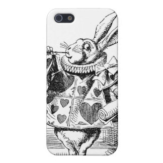 Alice In Wonderland White Rabbit Iphone Case Case For iPhone 5/5S
