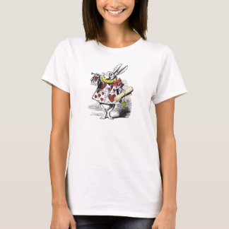 Alice in Wonderland White Rabbit T Shirt