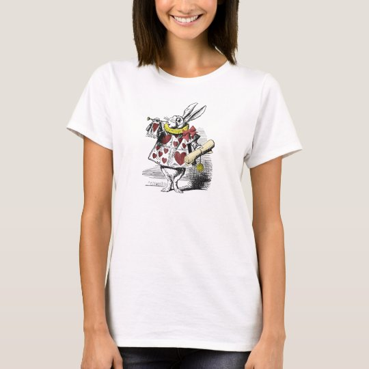 Alice in Wonderland White Rabbit T Shirt
