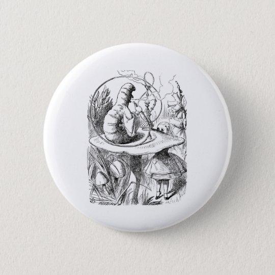 Alice in Wonderland: Who are You? Caterpillar 6 Cm Round Badge
