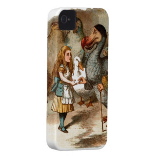 Alice in Wonderland - with Dodo iPhone 4 Case-Mate Case