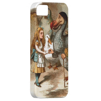 Alice in Wonderland - with Dodo iPhone 5 Case