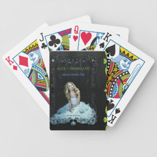 Alice in Zombieland playing cards