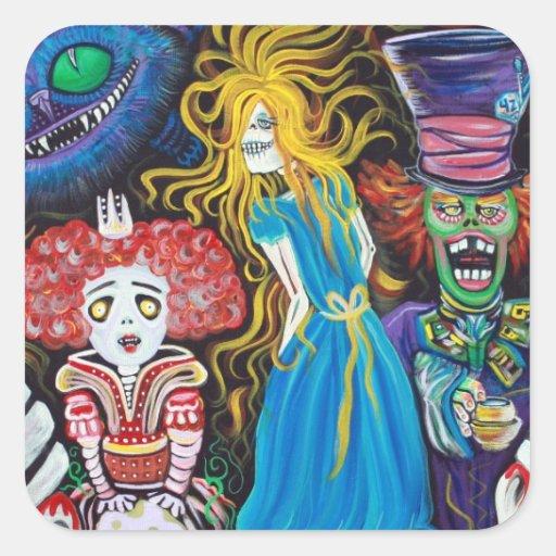 Alice in Zombieland Sticker