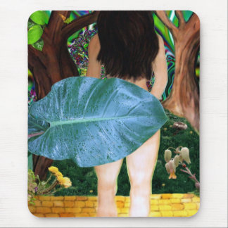 Alice Leaves Oz ~ digital collage art mouse pad Mousepad