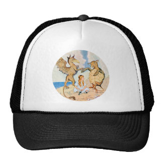 Alice Listens to the Griffin and the Mock Turtle Cap