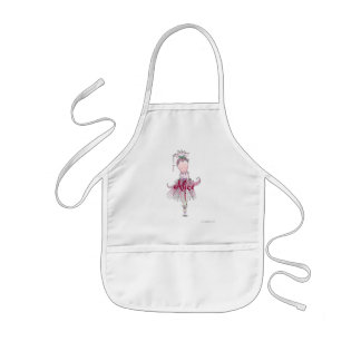 Alice Little Dancer Number One Personalized Ap Kids Apron