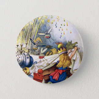 ALICE LOSES HER COOL IN WONDERLAND 6 CM ROUND BADGE