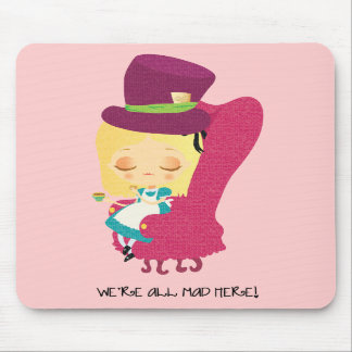 Alice Mad Hatter Mousepad