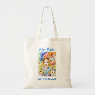 Alice Mania - light color version Tote Bags