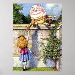 Alice Meets Humpty Dumpty in Wonderland Poster