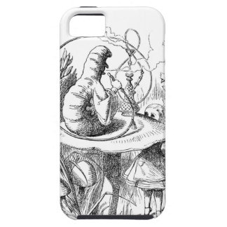 Alice Meets the Caterpillar - Alice in Wonderland iPhone 5 Case