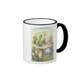 Alice Meets the Caterpillar Coffee Mugs