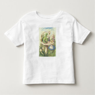 Alice Meets the Caterpillar Toddler T-Shirt