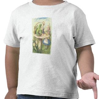 Alice Meets the Caterpillar Shirts
