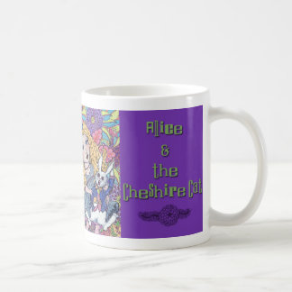 Alice Meets the Cheshire Cat Mug