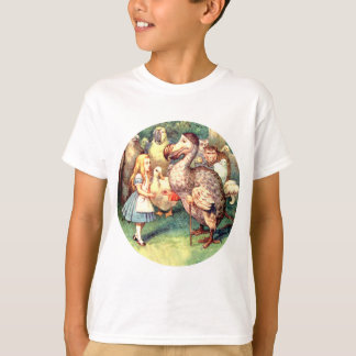 Alice Meets the Dodo Bird at the Caucus Race T-Shirt