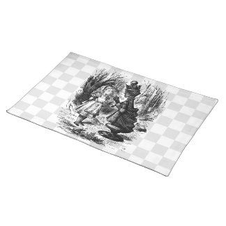 Alice Meets the Red Queen Placemat