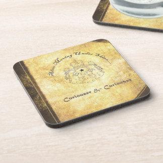 Alice Moving Under Skies 'Curiouser' Album Cover C Coaster