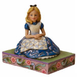 Alice on a Book Ornament Photo Sculpture Decoration
