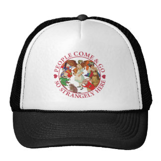 Alice - People Come and Go So Strangely Here Mesh Hat