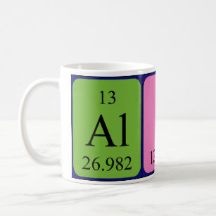 alice periodic table name mug - Periodic Table Mug Australia
