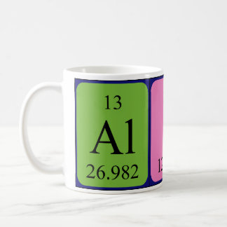 Alice periodic table name mug