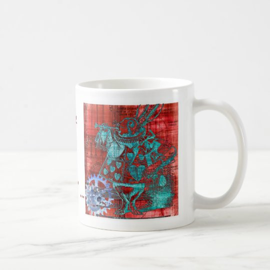 Alice printed Steampunmug - I'm a different person