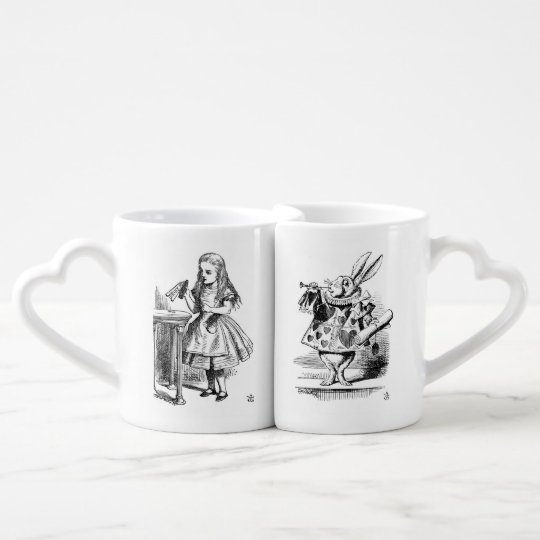 Alice & Rabbit Cup Set