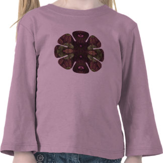 Alice s Asters Flower Shirt