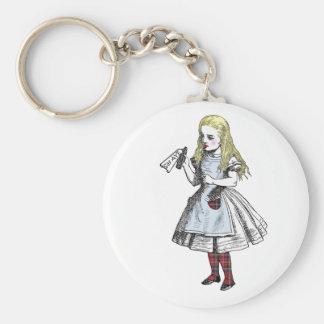 Alice Says Yes Scottish Independence Keyring Basic Round Button Key Ring