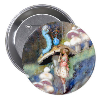 Alice Seeks Advice From the Caterpillar 7.5 Cm Round Badge