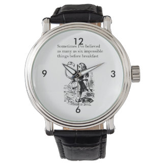 Alice, Six Impossible Things Watch