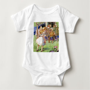 Mad Hatters Tea Party Baby Clothes Apparel Zazzle Uk