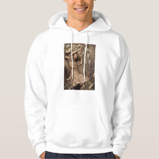Alice Swarmed by Playing Cards Hooded Sweatshirts