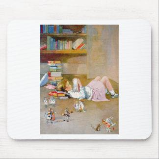 Alice Takes a Trip to Wonderland Mousepad