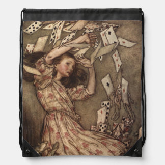 Alice & the Cards by Arthur Rackham Backpack