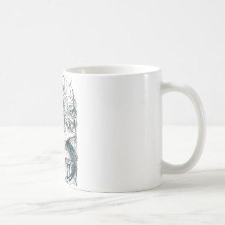 Alice & the Caterpillar Basic White Mug