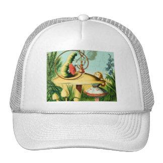 Alice & the Caterpillar Full Color Hat