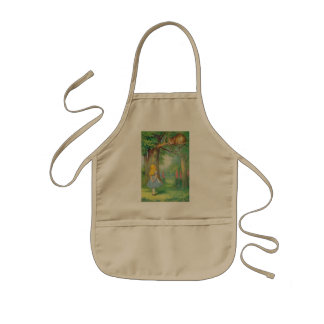 Alice & the Cheshire Cat Color Kids Apron
