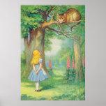 Alice & the Cheshire Cat Full Colour