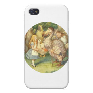 Alice & the Dodo Color Case For iPhone 4