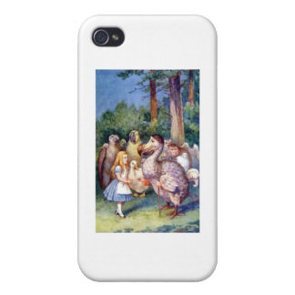 Alice & the Dodo Full Color Case For iPhone 4